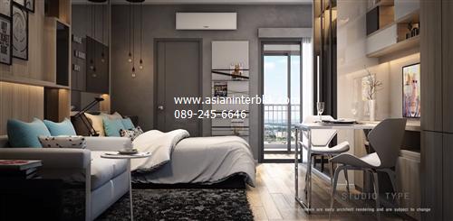 出售 良好公寓可投资靠近 BTS Phu Chao Sami